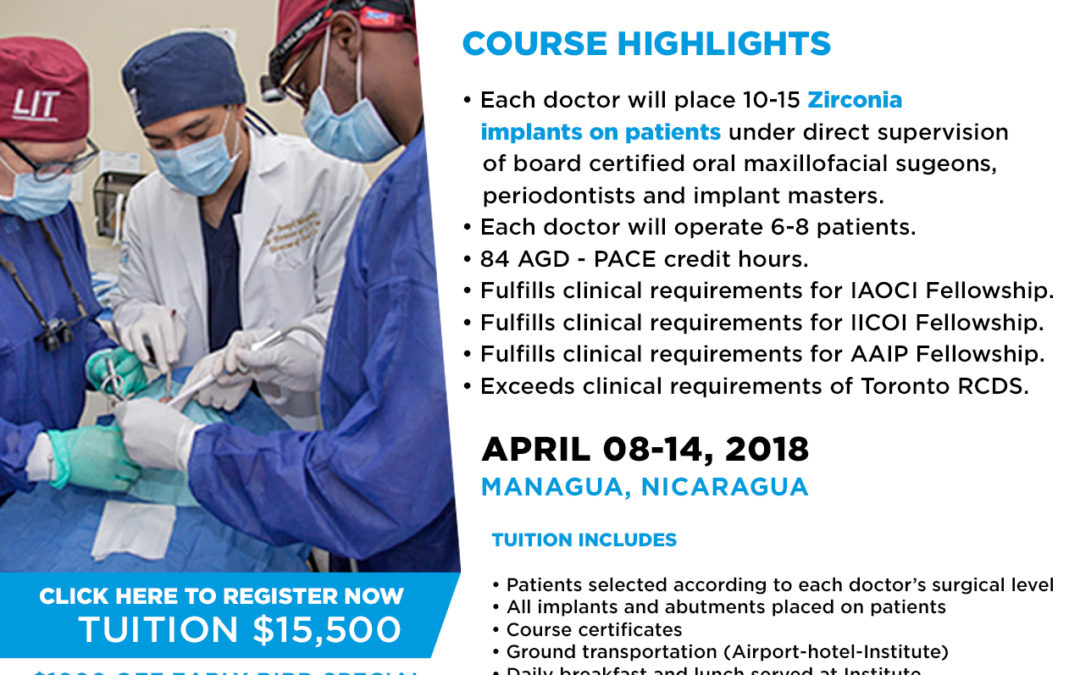 7-day Live Zirconia Implant Course